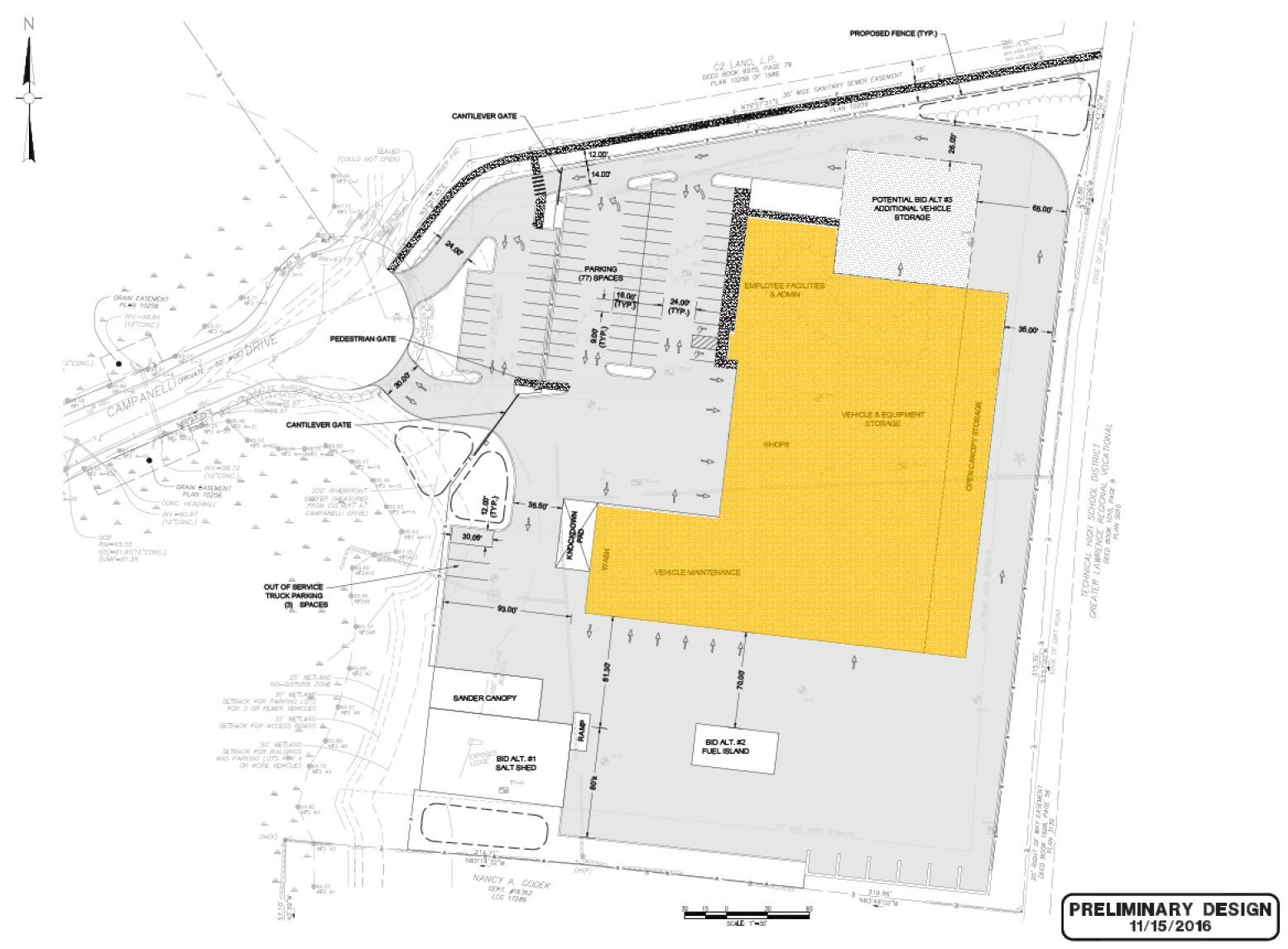 Preferred Concept - Site Plan